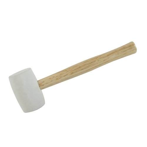 Silverline 196552 White Rubber Mallet 32oz (907g)